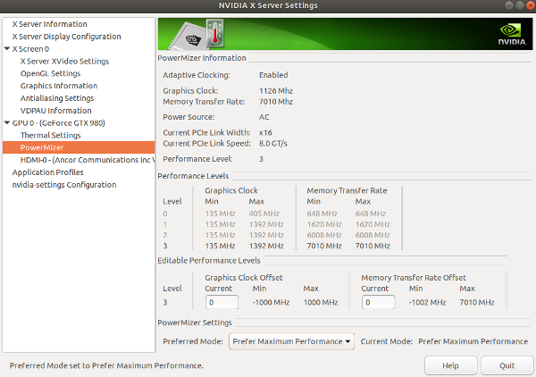 How to control Nvidia graphics card Fan Automatically in Linux